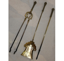 Tools fireplace brass