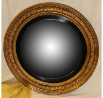 Large mirror witch round