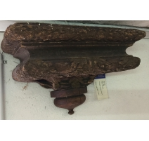 Console in carved wood