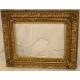 Cadre Napoléon III en bois doré