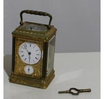 Péndulo oficial con el reloj, firmado LEROY