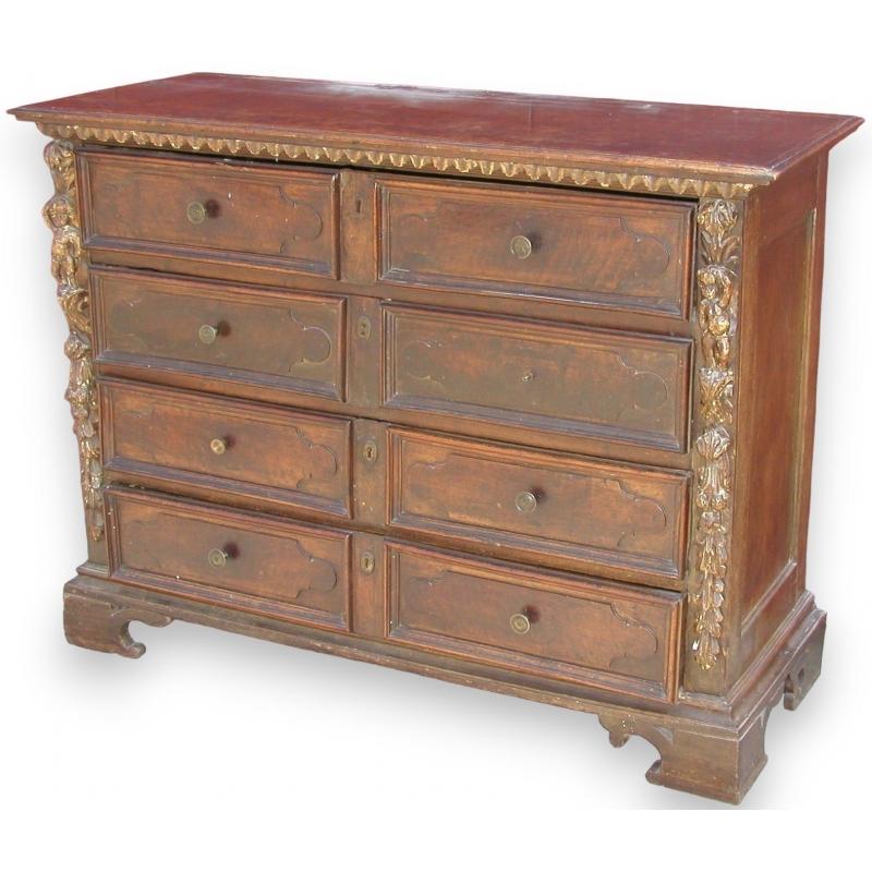 commode baroque avec 4 tiroirs sur moinat sa antiquit s d coration. Black Bedroom Furniture Sets. Home Design Ideas