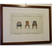 """Гравировка цв """"Кресло квартиры"""""""