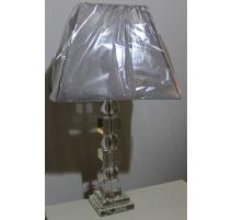 """Lampe en cristal """"Boules et cubes"""""""