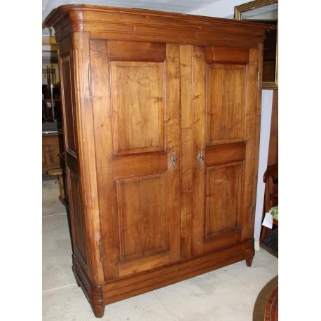 armoire vaudoise en noyer sur moinat sa antiquit s. Black Bedroom Furniture Sets. Home Design Ideas
