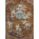 Muebles de la barra de laca de china, puerta pivotante