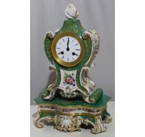 Péndulo de porcelana verde por Jacob PETIT