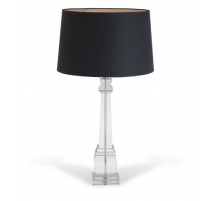 """Lampe en cristal """"Alita"""" colonne carrée en cristal"""