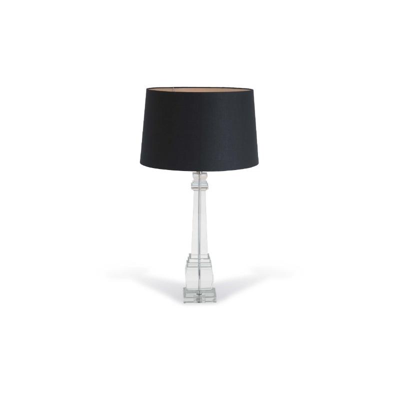 lampe en cristal alita colonne carr e en cristal sur. Black Bedroom Furniture Sets. Home Design Ideas