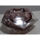 Cendrier en verre de Murano rose par V. NASON