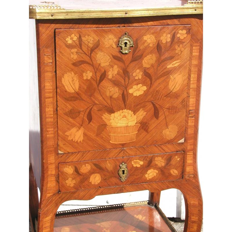 secr taire louis xv sur moinat sa antiquit s d coration. Black Bedroom Furniture Sets. Home Design Ideas