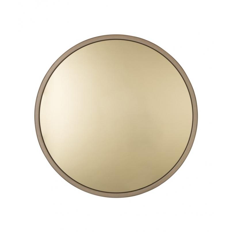 """Miroir rond """"BANDIT"""" métal cuivré"""