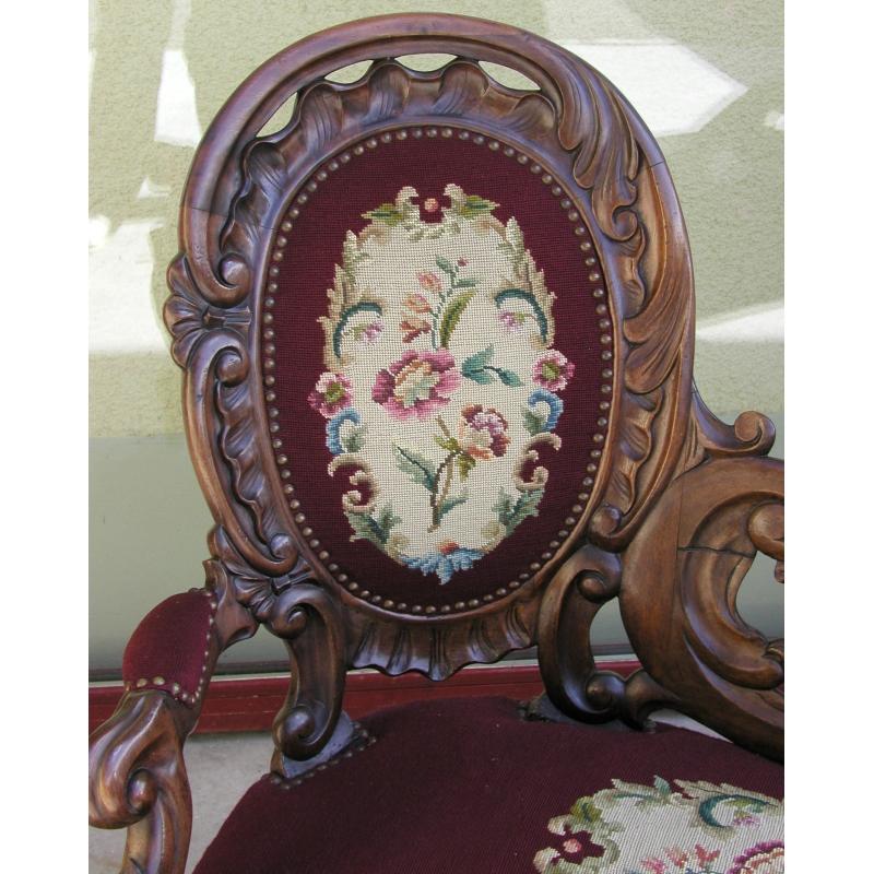 m ridienne victorienne sur moinat sa antiquit s d coration. Black Bedroom Furniture Sets. Home Design Ideas