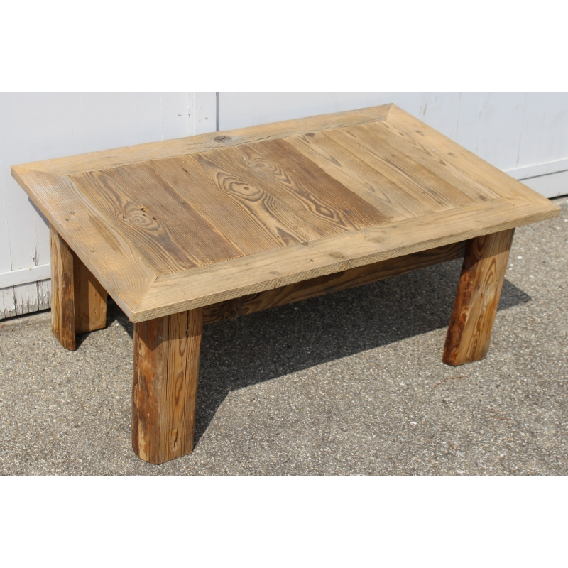 table basse vieux bois neuf. Black Bedroom Furniture Sets. Home Design Ideas