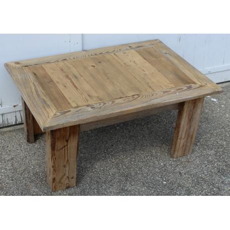 table basse en vieux bois avec plateau ouvrant sur moinat sa antiquit s d coration. Black Bedroom Furniture Sets. Home Design Ideas
