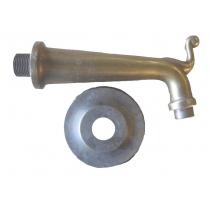 Goulot de fontaine en bronze