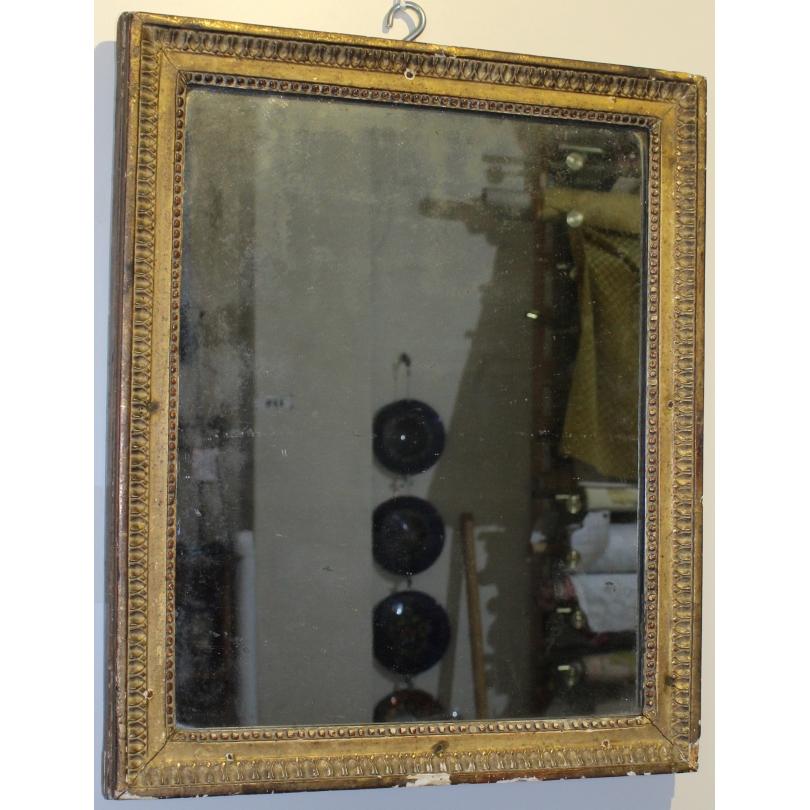 Mirroir Louis XVI rectangulaire
