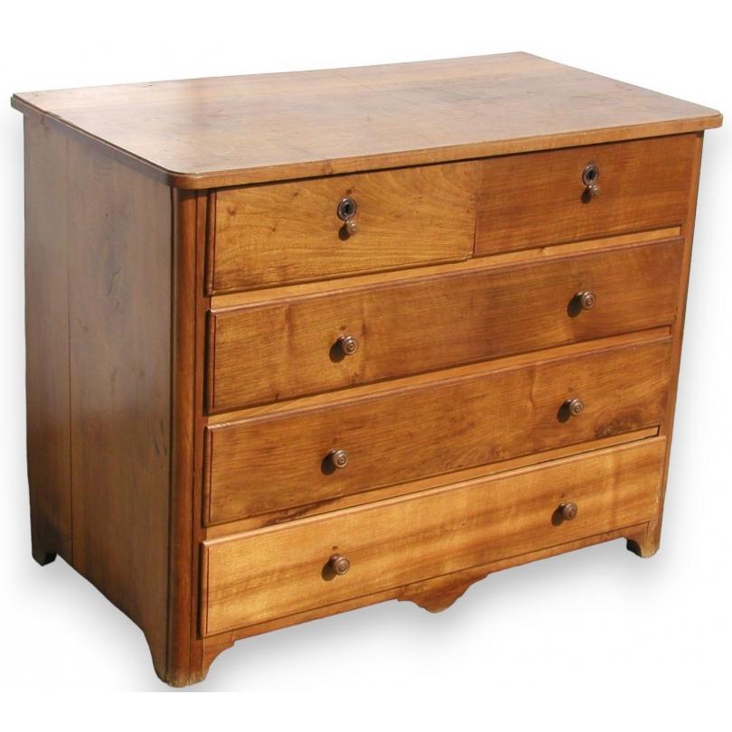 commode louis xiv avec 5 tiroirs sur moinat sa antiquit s d coration. Black Bedroom Furniture Sets. Home Design Ideas