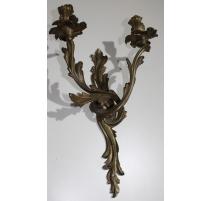 Applique style Louis XV en bronze