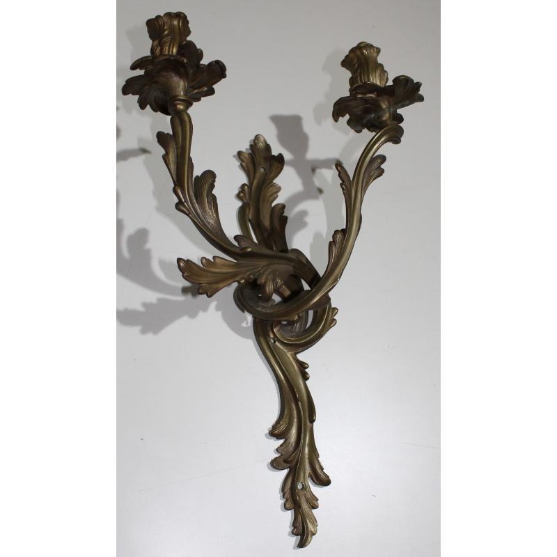 applique style louis xv en bronze sur moinat sa antiquit s d coration. Black Bedroom Furniture Sets. Home Design Ideas