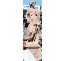 """Statue en terre cuite """"Été"""""""
