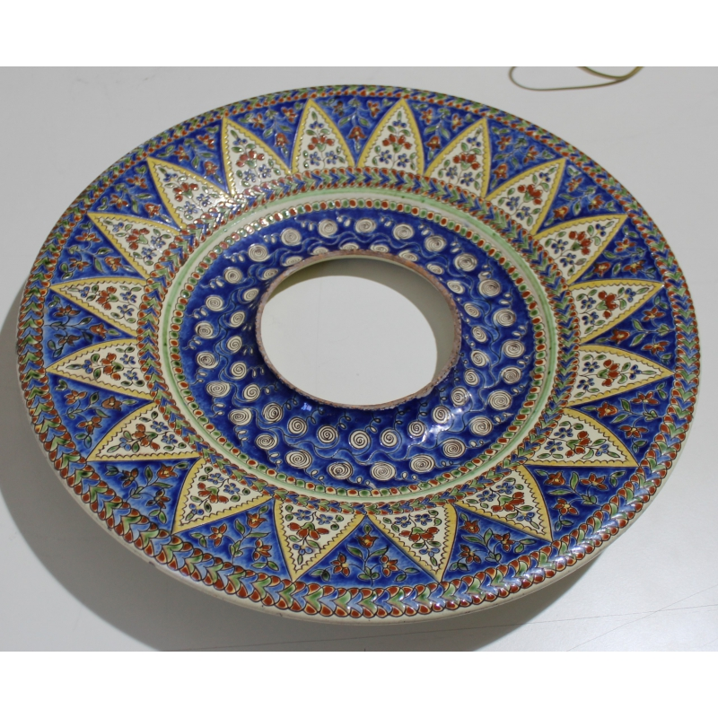 Tour d 39 horloge murale en fa ence de thoune sur moinat sa for Faience decorative murale