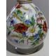 """Vase en opaline blanche """"Fleurs"""""""
