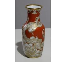 """Vase en porcelaine de Rosenthal """"Dragon"""""""