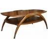 Table basse crabe en bois exotique