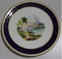 """Assiette en porcelaine """"Loch Lomond"""""""