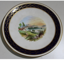"Assiette en porcelaine ""Lake Menteith"""