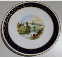"""Assiette en porcelaine """"Doune Castle"""""""