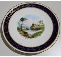 """Assiette en porcelaine """"Uhquart Castle"""""""