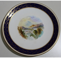 "Assiette en porcelaine ""Calander Bridge"""