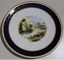 "Assiette en porcelaine ""The Cobler"""
