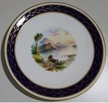 """Assiette en porcelaine """"Loch Venacher"""""""
