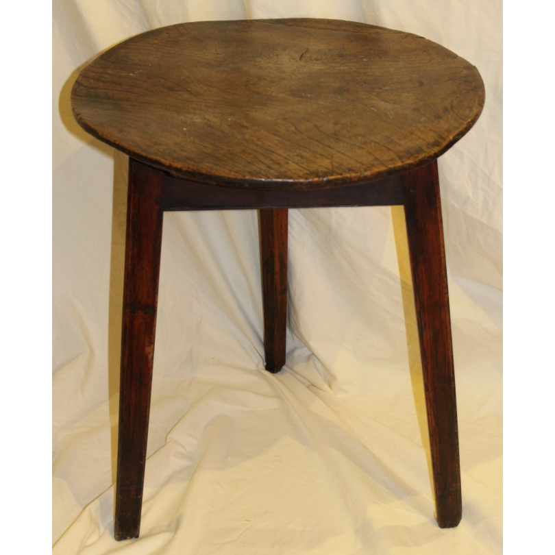 """Table ronde en frêne """"Welsh Cricket Table"""""""