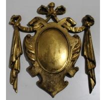 """Décor Louis XVI en bronze """"Médaillon aux noeuds"""""""