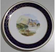 """Assiette en porcelaine """"Loch Katrine"""""""