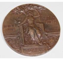 """Médaille """"Exposition nationale Suisse"""" Genève 1896"""