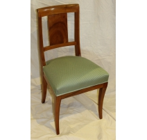 Set of 6 Directoire chairs.
