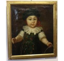 "Portrait d'un garçon ""Adolphe BURNAND"""
