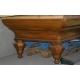 Art Deco billiard table.