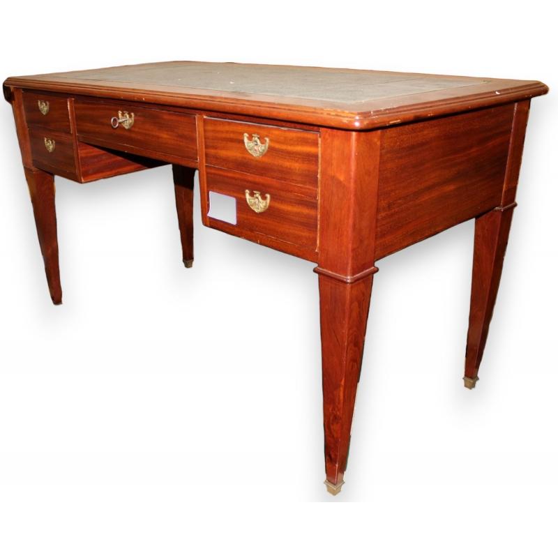 bureau plat style directoire sur moinat sa antiquit s d coration. Black Bedroom Furniture Sets. Home Design Ideas