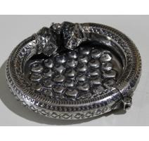 Bracelet en argent monté en cendrier