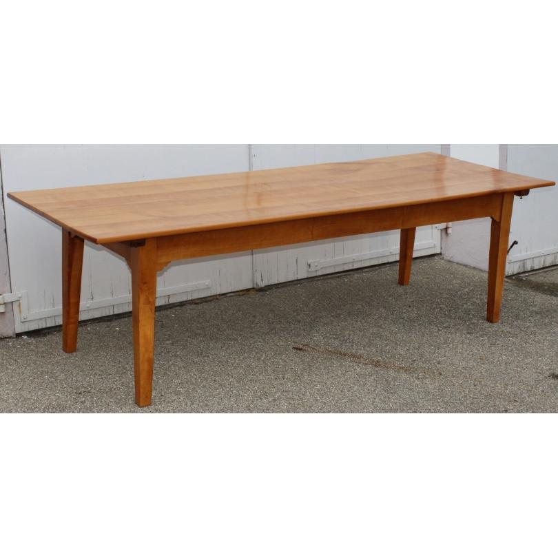 Grande table Directoire en cerisier