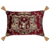 """Coussin """"Regal Stag Rouge"""" Large"""