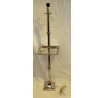 Square umbrella stand, aluminum cast iron