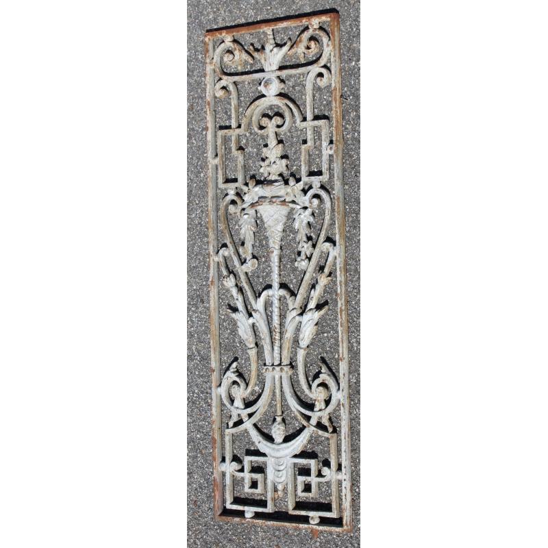 grille en fonte sur moinat sa antiquit s d coration. Black Bedroom Furniture Sets. Home Design Ideas