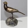 Bergeronnette en bronze, signé REUSSNER